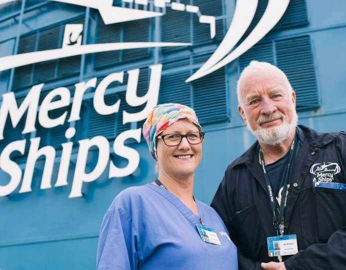 Bill and Lynda Williams, Mechanical Fitter and OR Nurse.